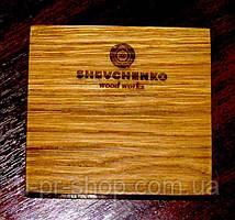 Вироби з дерева з логотипом