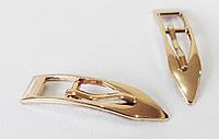 Пряжка   Д7078  золото