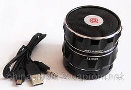 Портативна колонка Atlanfa AT-9501 з FM радіо Bluetooth MP3, фото 3