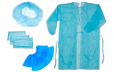 Комплекты одежды для посетителей