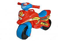 Детский музыкальный беговел Racing (Украина) ТМ Doloni (звук, свет) цвета