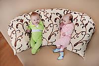 Кофточка для малыша с длинным рукавом (интерлок)