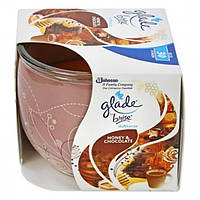 Свеча ароматизированная Glade Brise Honey & Chocolate, 120 г