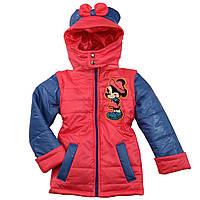 Детская куртка жилетка на девочку весна осень (рост 110-134 см)