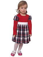 Платье  детское с длинным рукавом   М -1031 рост 80 86 92 и 98 разные цвета, фото 1