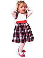 """Платье  детское с длинным рукавом   М -1031 рост 80 86 92 и 98 разные цвета тм """"Попелюшка"""", фото 1"""