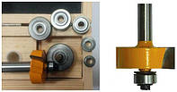 Набор фрез кромочных фальцевых, 6 подшипнк, хв.12мм (арт.10625)