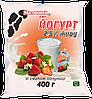 Йогурт со вкусом клубники 2,5% 400 г