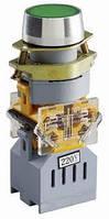 Кнопка управления с зеленой подсветкой 24V AC/DC, 1НО контакт