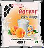 Йогурт со вкусом персика 2,5% 400 г