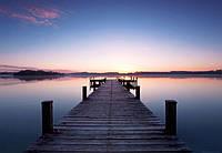Фотообои флизелиновые Пирс на восходе солнца 366*254 Код 953