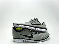 Кроссовки беговые мужские Nike free run 3.0 серые