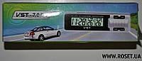Многофункциональные автомобильные часы 3 в 1 VST-7065
