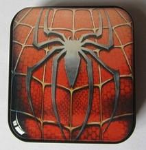 Mp3 плеер SpiderMan + наушники + кабель + коробка