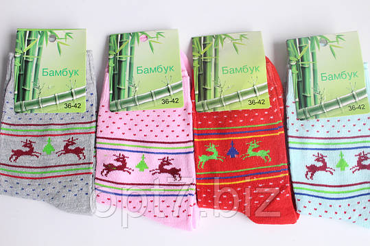 Носки женские бамбуковые 36-42, фото 2