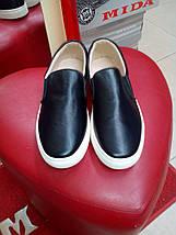 Слипоны  женские черные Allshoes., фото 3