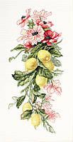 Luca-S Набор для вышивки крестом Цветы и лимоны