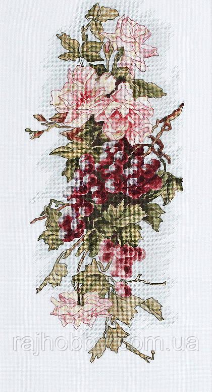 Luca-S Набор для вышивки крестом Композиция с виноградом