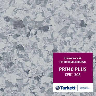 Коммерческий гомогенный линолеум  TARKETT PRIMO PLUS 308, фото 2