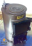 Котел твердотопливный  Бритай с варочной поверхностью КОТВ-М-14П мощностью 14 квт, фото 2