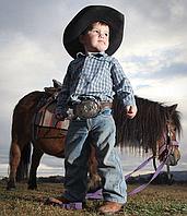 Фотосессии на пони для самых маленьких