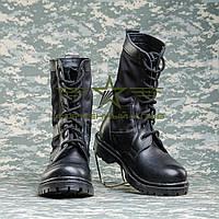 """Берцы летние  """"НАТО""""  с черной тканевой вставкой 35, 36, 40"""