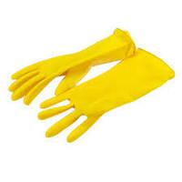 Перчатки резиновые хозяйственные L