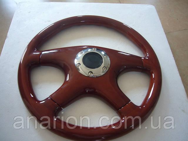 Руль деревянный Троя №001 (VIP категория)