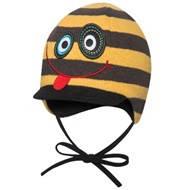 Веселая шапка на завязках для мальчика  GIZZI ТМ BROEL (Польша) Размеры:45