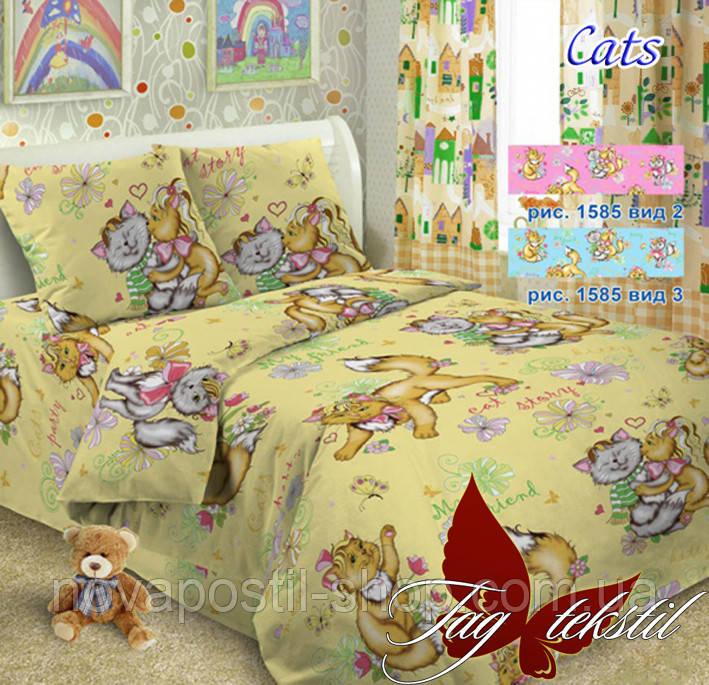 Комплект детского постельного белья ТМ TAG Cats вид 3
