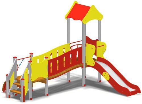 Детская игровая площадка «Комплекс Гномик» (DIO-707) - Спорт систем в Киеве