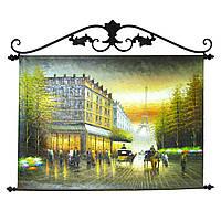 "Картина масло ""Париж"""