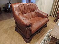 """Шкіряні меблі на дубі """"BOSS"""",кожаная мебель, шкіряні меблі"""