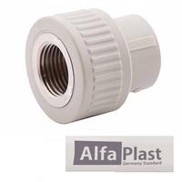 Муфта PPR 25*1/2 ВР Alfa Plast