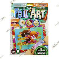 FOIL ART Аппликация фольгой по номерам «Мишки», фото 1