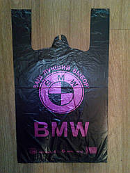 Пакеты  полиэтиленовые  BMW  30х50 см