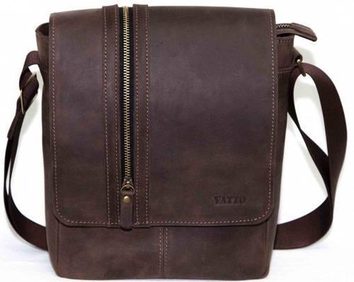 Мужская практичная сумка из натуральной кожи VATTO MK28Kr450