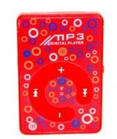MP3- плеер Atlanfa AT-P24 цветной с прищепкой, red, фото 1
