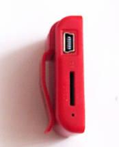 MP3- плеер Atlanfa AT-P24 цветной с прищепкой, red, фото 3