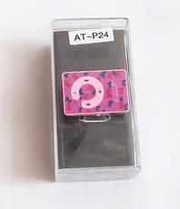 MP3- плеер Atlanfa AT-P24 цветной с прищепкой, pink, фото 3