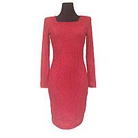 Красное ажурное платье, фото 1