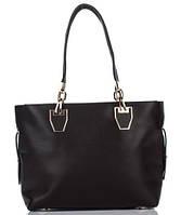 Сумка в сумке женская из искусственной кожи шоколадного цвета
