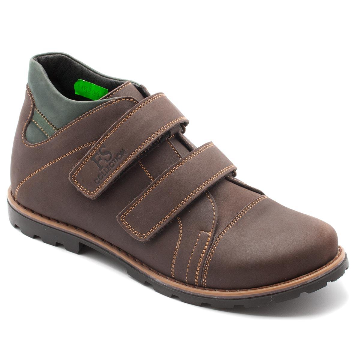 Подростковые полуботинки FS Сollection для мальчика, коричневые, размер 31-39