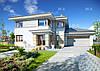 MX83. Современный двухэтажный дом, оформленный в светлых тонах