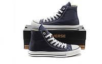Кеды Converse All Star реплика ААА+ размер 40-41 синий