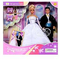 "Кукла семья ""Defa Lucy"" 20991 типа Барби с Кеном"