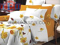Комплект постельного белья 716 «Нарцис» ТМ ТЕП (Украина) бязь Евро