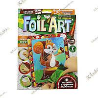 FOIL ART Аппликация фольгой по номерам «Белочка», фото 1