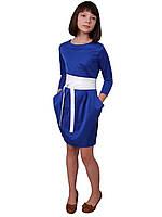 Стильное платье для девочки М-1022 мемори, фото 1