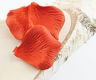 Лепестки роз цвет красныйм Больше 200 шт(товар при заказе от 500грн)